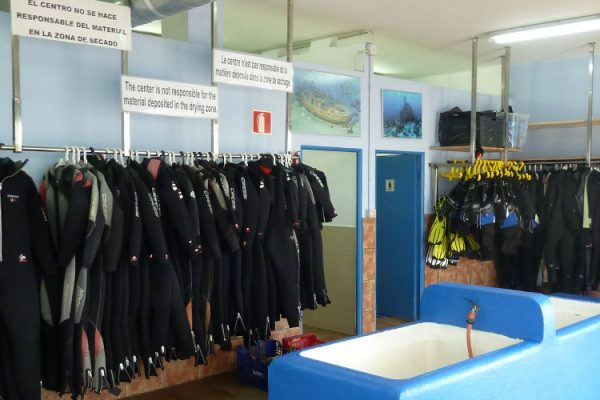 Instalaciones Dive Center Palamós